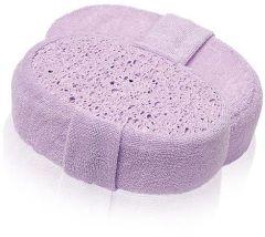 Donegal Bath Sponge Oval Purple