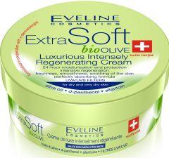 Eveline Cosmetics Extra Soft Bio Olive Luxury Intensely Regenerating Cream (200mL)