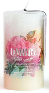 Artman Candles Aroma Candle Ombre Cream 61H (7x8cm)