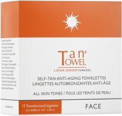 Tan Towel Self Tan Towelettes Face Tan For All Skin Tones (15pcs)