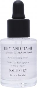 Nailberry Dry and Dash with Inca Inchi Oil (11mL)