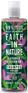 Faith in Nature Nourishing Shampoo Lavender & Geranium (400mL)