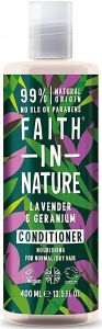 Faith in Nature Nourishing Conditioner Lavender & Geranium (400mL)