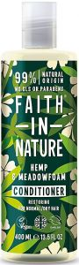 Faith in Nature Restoring Conditioner Hemp & Meadowfoam (400mL)