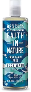 Faith in Nature Fragnance Free Shower Gel/Foam Bath Sensitive (400mL)