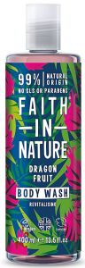 Faith in Nature Revitalising Shower Gel/Foam Bath Dragon Fruit (400mL)