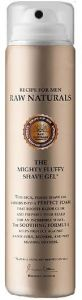 Recipe for Men Raw Naturals The Mighty Fluffy Shave Gel (75mL)