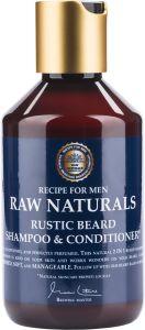 Recipe for Men Raw Naturals Rustic Beard Shampoo & Conditioner (250mL)
