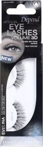 Depend Artificial Eye Lashes Volume 3D Evelina + Glue