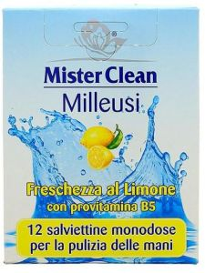 Mister Clean Refreshing Lemon Single Wet Wipes (100psc)