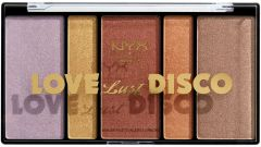 NYX Professional Makeup Love Lust Disco Highlight Palette (28.4g)
