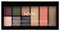 NYX Professional Makeup Go-to Palett (15,3g) Bon Voyage