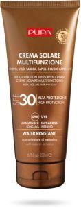 Pupa Multifunction Sunscreen Cream Body, Face, Lips, Hair and Scalp SPF 30 (200mL)