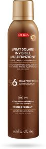Pupa Multifunction Invisible Sunscreen Spray Body, Hair and Scalp SPF 6 (200mL)