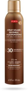 Pupa Multifunction Invisible Sunscreen Spray Body, Hair and Scalp SPF 30 (200mL)