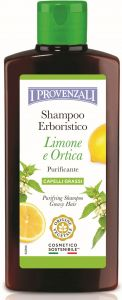 I Provenzali Delicate Shampoo Nettle and Lemon Greasy Hair (250mL)