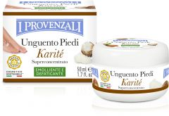 I Provenzali Shea Butter Emollient, Anti-fatigue Foot Ointment (50mL)