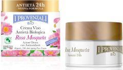 I Provenzali Rosa Mosqueta Organic 24h Anti-aging Face Cream (50mL)