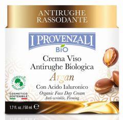 I Provenzali Argan Organic Anti-wrinkle Day Face Cream (50mL)