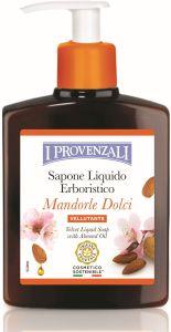 I Provenzali Sweet Almonds Velvet Liquid Soap with Sweet Almond Oil (250mL)