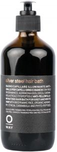 Oway Silver Steel Hair Bath for Man (240mL)