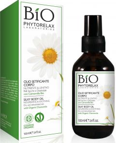 Phytorelax Chamomile Silky Nourishing&soothing Body Oil Dry And Drehydrated Skin (100mL)