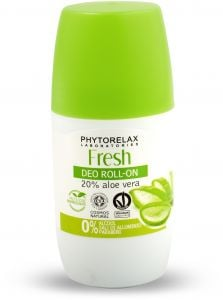 Phytorelax Fresh Roll-On Deo with 20% of Aloe Vera (50mL)