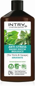 Intra Green Tea & Hemp Organic Relaxing Body Wash (400mL)