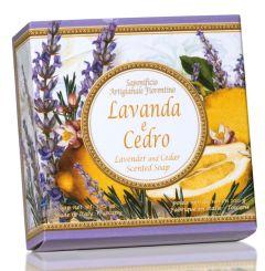 Fiorentino Soap Capri Lavender and Cedar (100g)