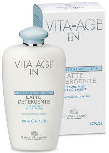Bottega Di Lungavita Vita-Age In Cleansing Milk (200mL)