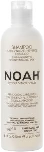 Noah Purifying Shampoo with Green Tea and Basil (250mL)