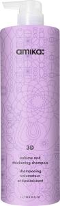 Amika 3D Volumizing and Thickening Shampoo (1000mL)