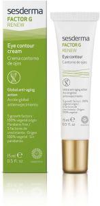 Sesderma Factor G Renew Eye Contour Cream (15mL)