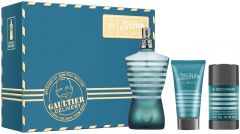 Jean Paul Gaultier Le Male EDT (125mL) + ASB (50mL) + Deostick (75mL)