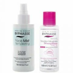 Byphasse Face Mist Re-hydrating Sensitive & Dry Skin (150mL)  + Micellar Make-up Remover Solution