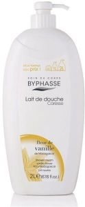 Byphasse Shower Cream Vanilla Flower With Dispenser (2000mL)