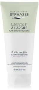 Byphasse Anti-imperfections Clay Mask Combination To Oily Skin (150mL)