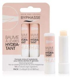 Byphasse Moisturizing Lip Balm (2pcs)