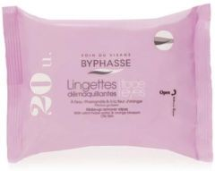 Byphasse Make-up Remover Wipes Oily Skins (20psc)