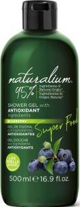 Naturalium Shower Gel Superfood Antioxidant Blueberry (500mL)