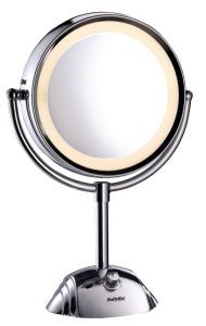 Babyliss Mirror 8X/1X Two Side with Lighting 8438E