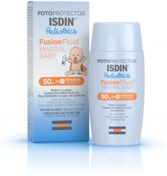 ISDIN Fotoprotector Pediatrics Fusion Fluid Mineral Baby (50mL)