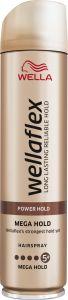 Wella Wellaflex Mega Strong Hold 5+ Hairspray (250mL)