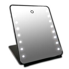Gerard Brinard I-Pad Mirror Black 16x Led With Touch Sensor (25x19x2cm)