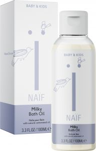 Naïf Milky Bath Oil (100mL)