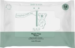 Naïf Plastic Free Wipes (54pcs)