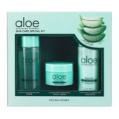 Holika Holika Aloe Soothing Essence Skin Care Special Kit (120mL)