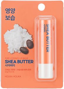 Holika Holika Pure Essence Shea Butter Lip Balm (3.3g)