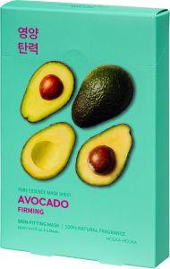 Holika Holika Pure Essence Mask Sheet - Avocado (5x23mL)