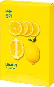 Holika Holika Pure Essence Mask Sheet - Lemon (5x23mL)
